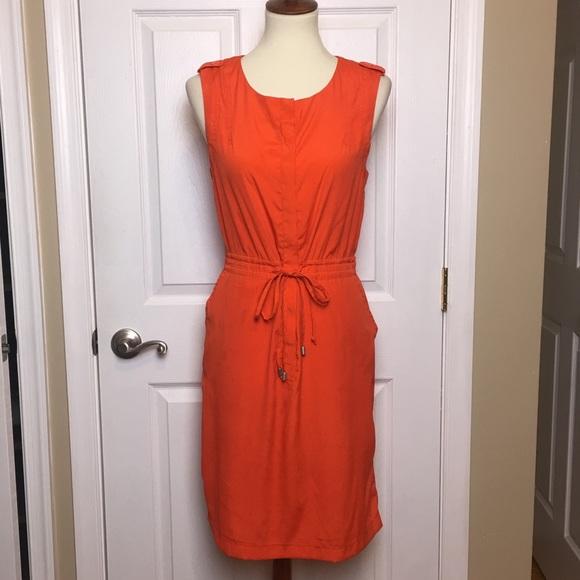 W118 by Walter Baker Dresses & Skirts - W118 by Walter Baker Orange Drawstring Dress